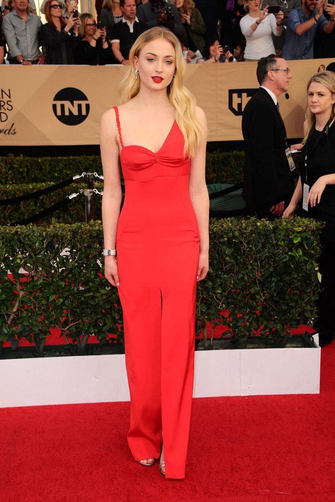 Sophie Turner: 2017 Screen Actors Guild Awards -01
