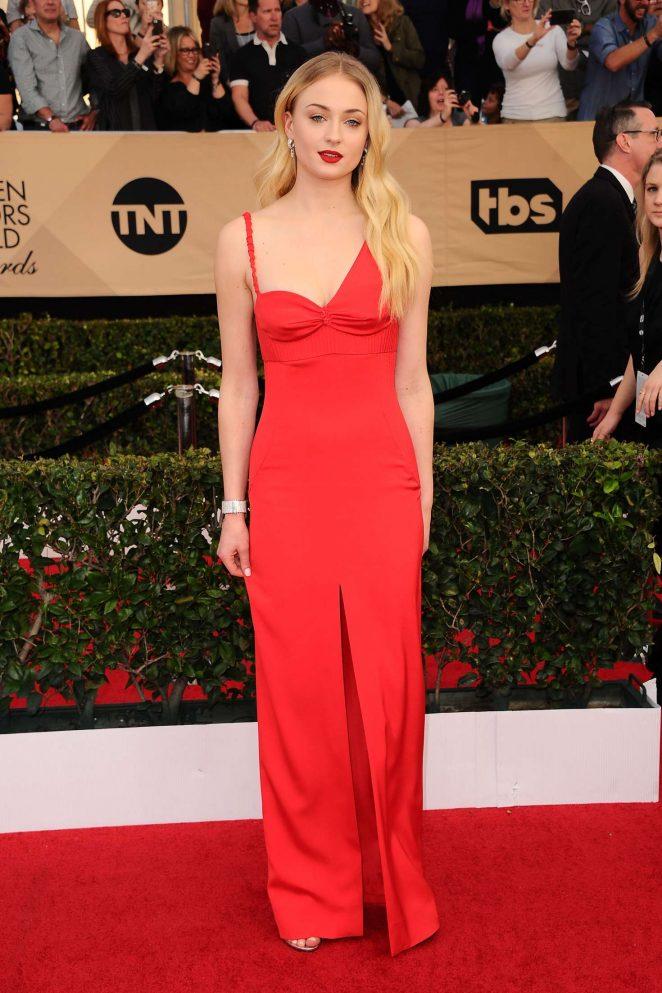 Sophie Turner: 2017 Screen Actors Guild Awards -04