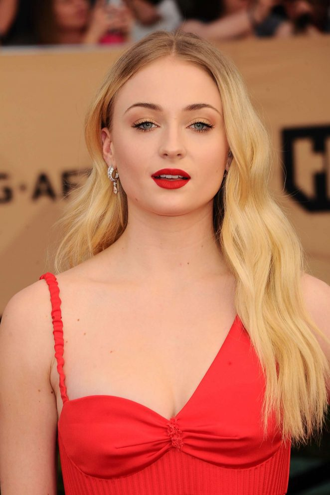 Sophie Turner: 2017 Screen Actors Guild Awards -11