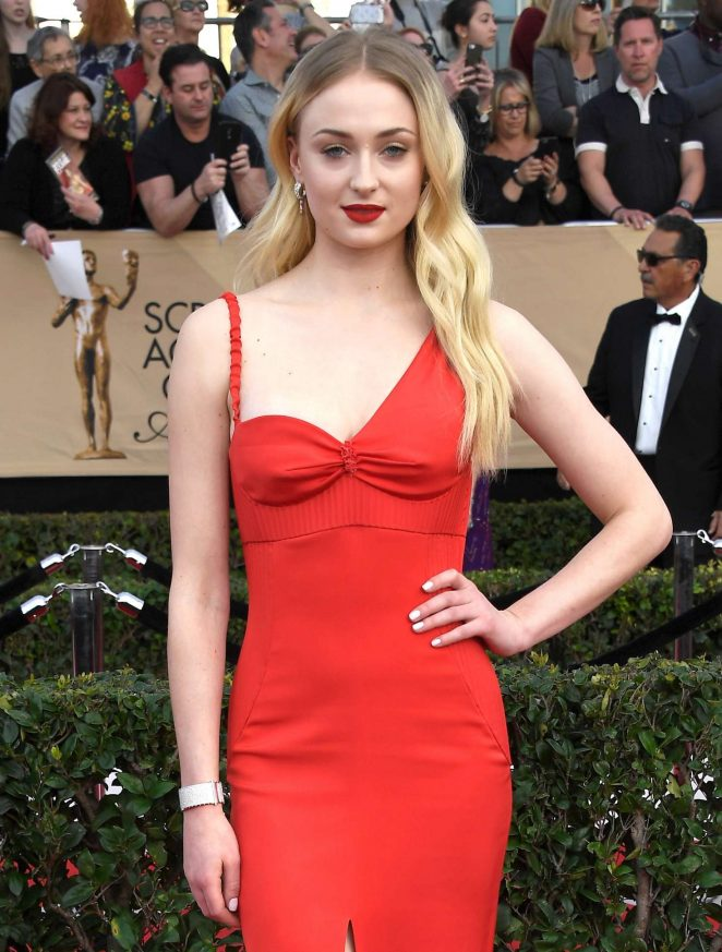 Sophie Turner: 2017 Screen Actors Guild Awards -22