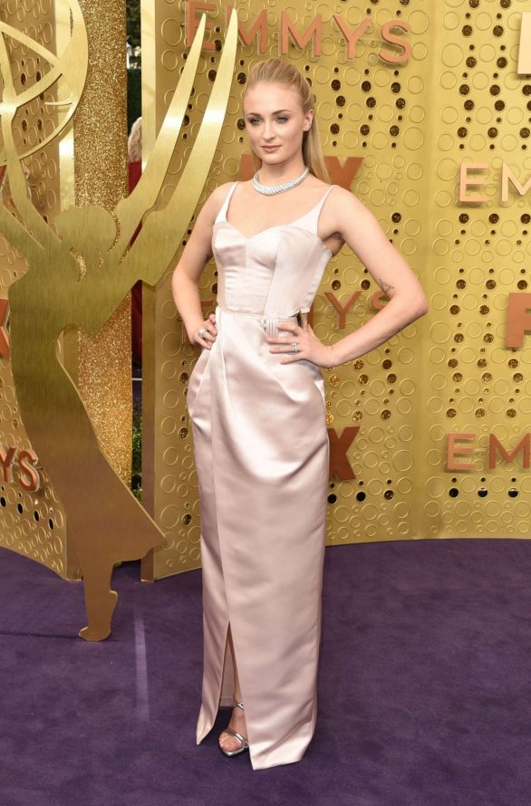 Sophie Turner – 2019 Emmy Awards- in the outfit described above.
