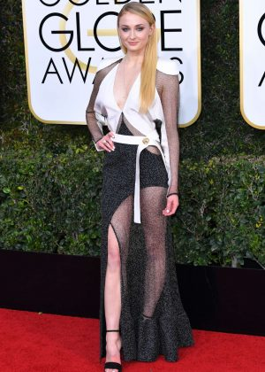Sophie Turner - 74th Annual Golden Globe Awards in Beverly Hills