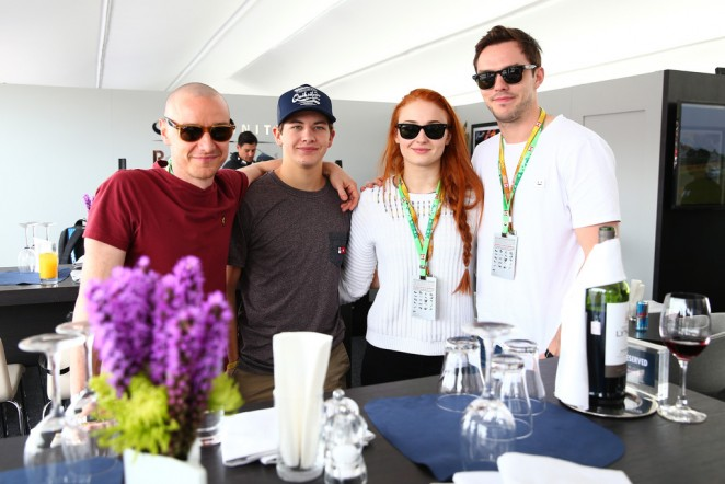 Sophie Turner & Alexandra Shipp - Canadian F1 Grand Prix in Montreal