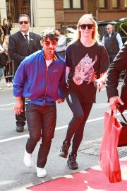 Sophie Turner and Joe Jonas - Arriving at The Mark Hotel in New York