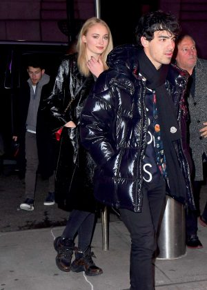 Sophie Turner and Joe Jonas - Arriving to the NY Knicks Game in New York