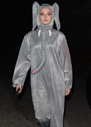 Sophie Turner and Joe Jonas - Attend a Halloween party in Los Angeles