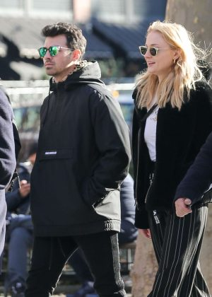 Sophie Turner and Joe Jonas - Have lunch out in NYC