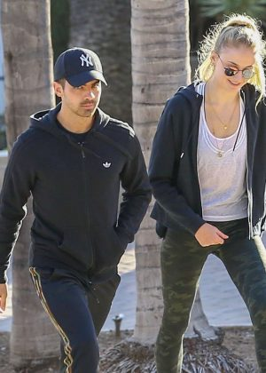 Sophie Turner and Joe Jonas out and about in LA