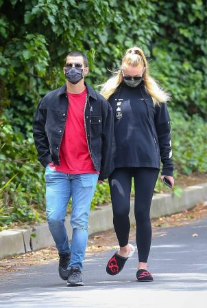 Sophie Turner and Joe Jonas - Out and about in Los Angeles
