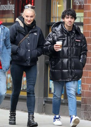 Sophie Turner and Joe Jonas - Out and about in Manhattan