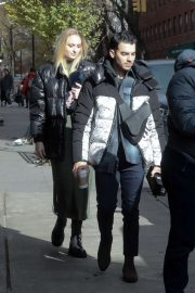 Sophie Turner and Joe Jonas - Out and about in NY