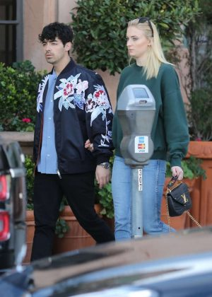 Sophie Turner and Joe Jonas - Out in Beverly Hills