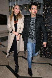 Sophie Turner and Joe Jonas - Out in London