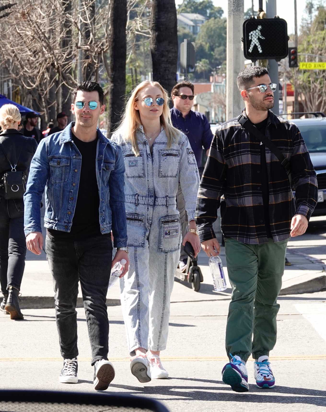 Sophie Turner 2019 : Sophie Turner and Joe Jonas – Out in Los Angeles-02