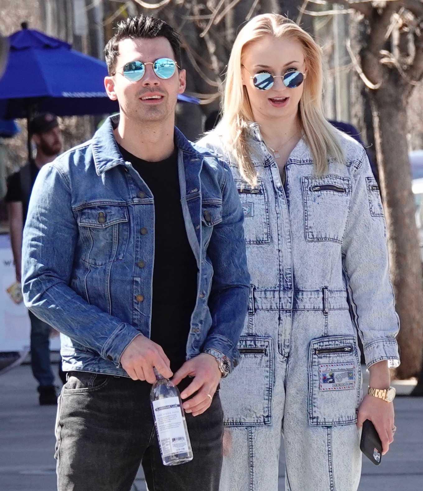 Sophie Turner 2019 : Sophie Turner and Joe Jonas – Out in Los Angeles-03