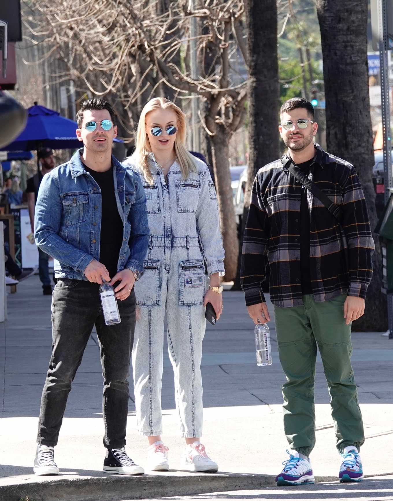 Sophie Turner 2019 : Sophie Turner and Joe Jonas – Out in Los Angeles-06