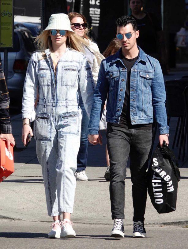 Sophie Turner and Joe Jonas - Out in Los Angeles