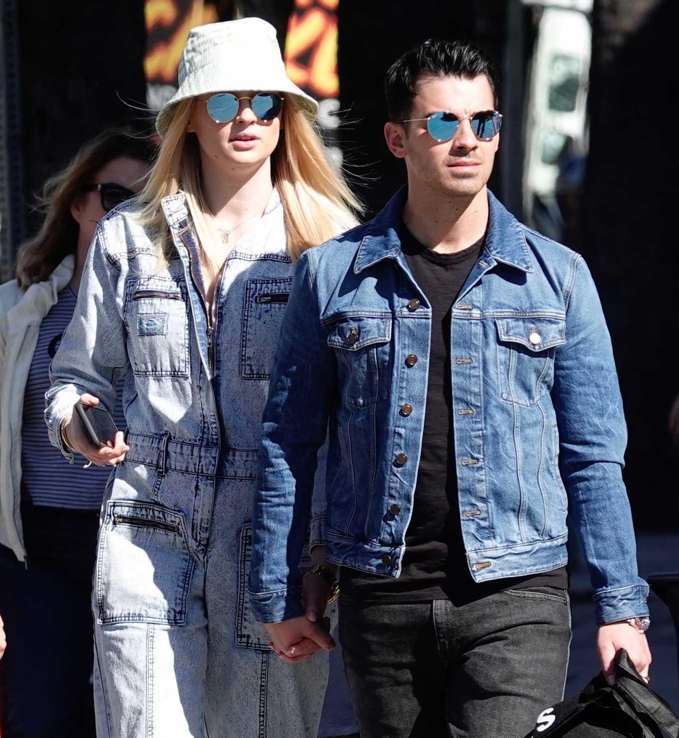 Sophie Turner and Joe Jonas – Out in Los Angeles-09