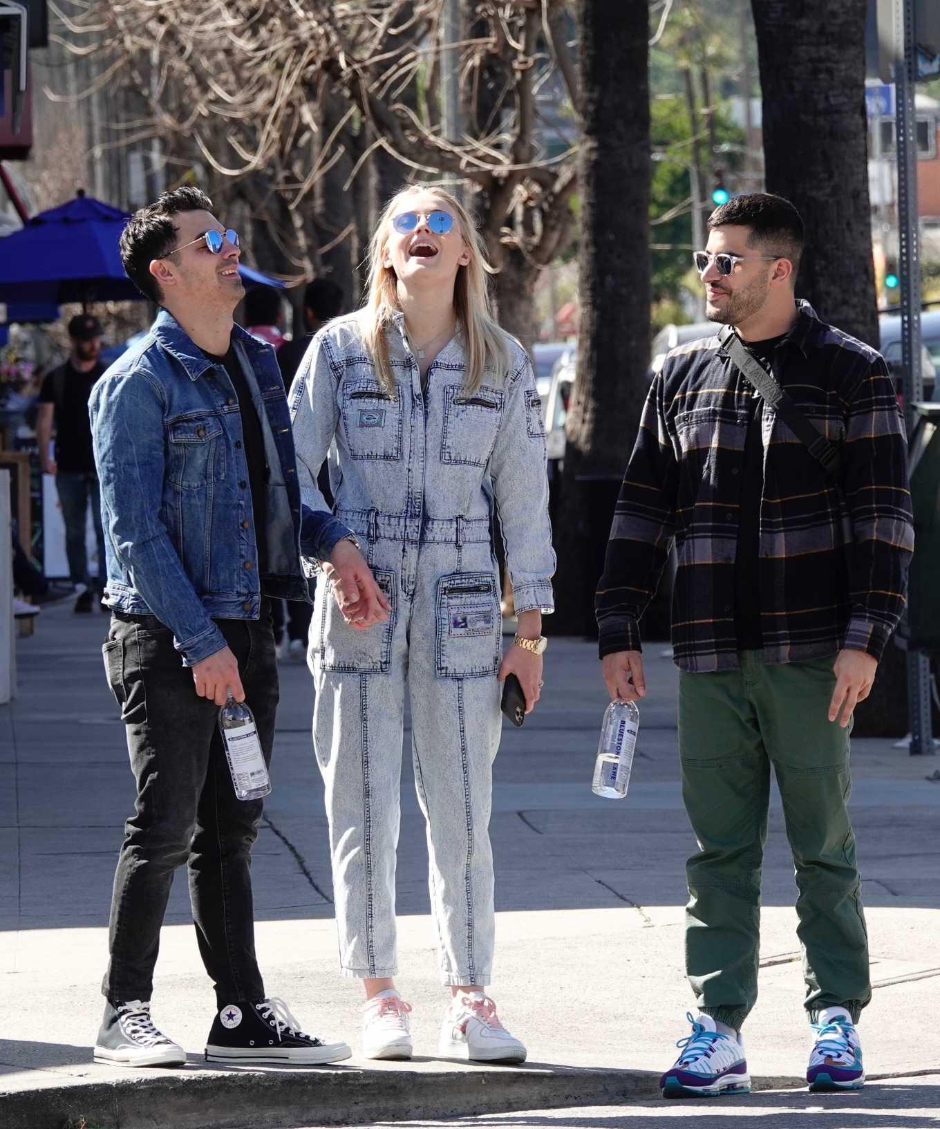 Sophie Turner 2019 : Sophie Turner and Joe Jonas – Out in Los Angeles-12