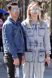 Sophie Turner and Joe Jonas - Out in Los Angeles