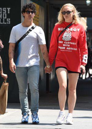 Sophie Turner and Joe Jonas - Out in Manhattan