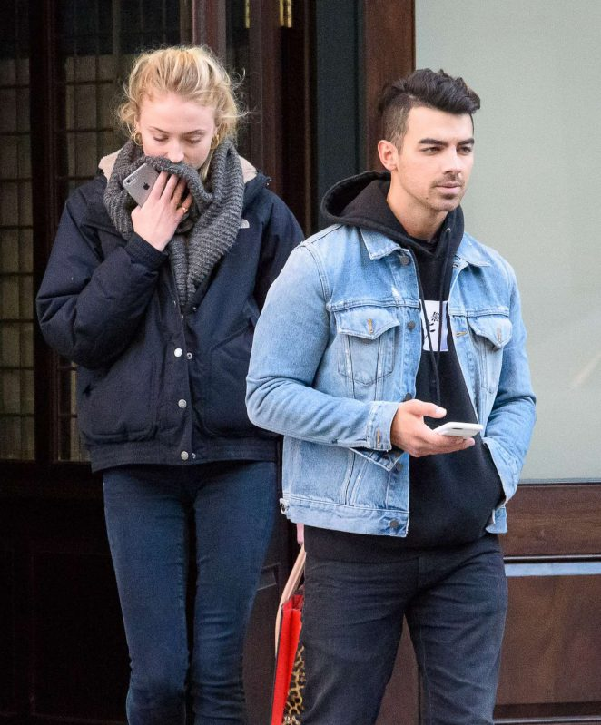 Sophie Turner and Joe Jonas out in Ney York City