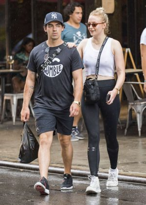 Sophie Turner and Joe Jonas - Out in NYC