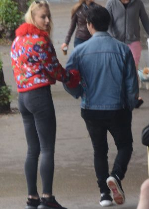 Sophie Turner and Joe Jonas out in Sydney