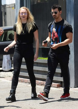 Sophie Turner and Joe Jonas out in West Hollywood