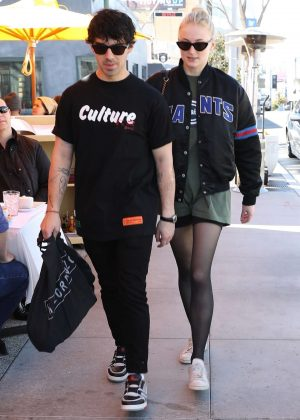 Sophie Turner and Joe Jonas - Shopping at Lorenzo in West Hollywood