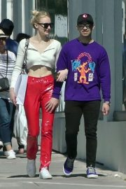 Sophie Turner and Joe Jonas - Shopping in Hollywood