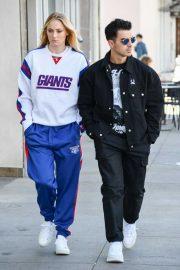 Sophie Turner and Joe Jonas - Shopping in Studio City