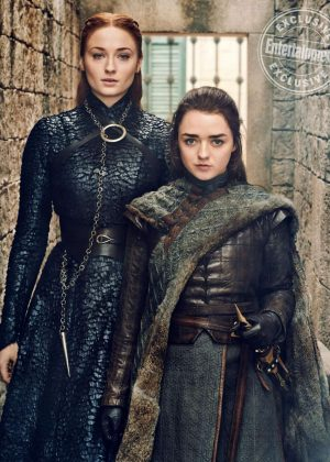 Sophie Turner and Maisie Williams - Entertainment Weekly Magazine (March 2019)
