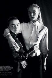 Sophie Turner and Maisie Williams - Vogue Espana Magazine (May 2019)
