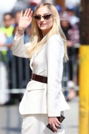 Sophie Turner - Arrives at Jimmy Kimmel Live! in Los Angeles