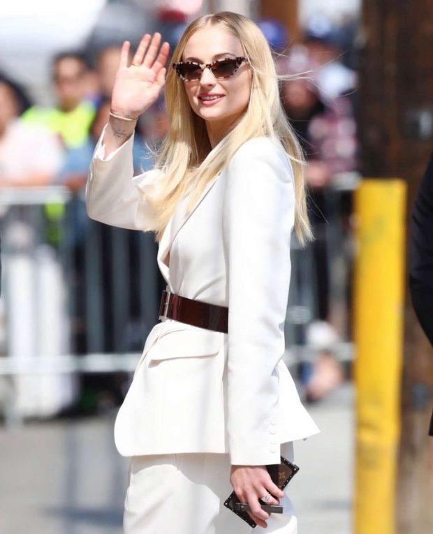 Sophie Turner - Arrives at Jimmy Kimmel Live! in Los Angeles