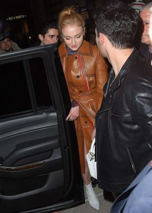 Sophie Turner at GRAMMY Awards party at Cadillac House in NYC