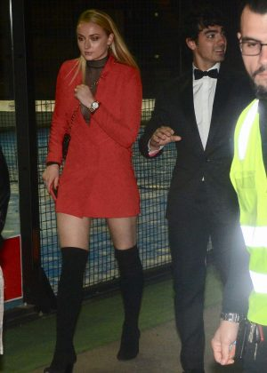 Sophie Turner at Max Watts After Party in Moore Park