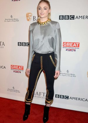 Sophie Turner - BAFTA LA Tea Party 2017 in Beverly Hills
