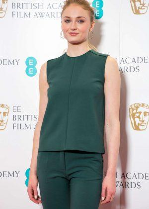 Sophie Turner - British Academy Film Awards Nominations in London