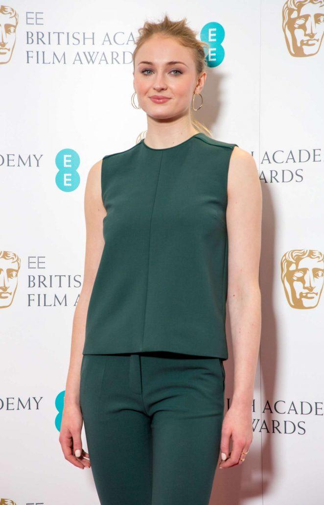 Sophie Turner – British Academy Film Awards Nominations in London