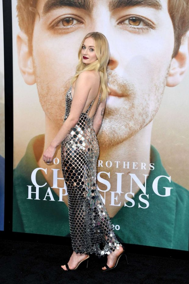Sophie Turner - Chasing Happiness Premiere in LA