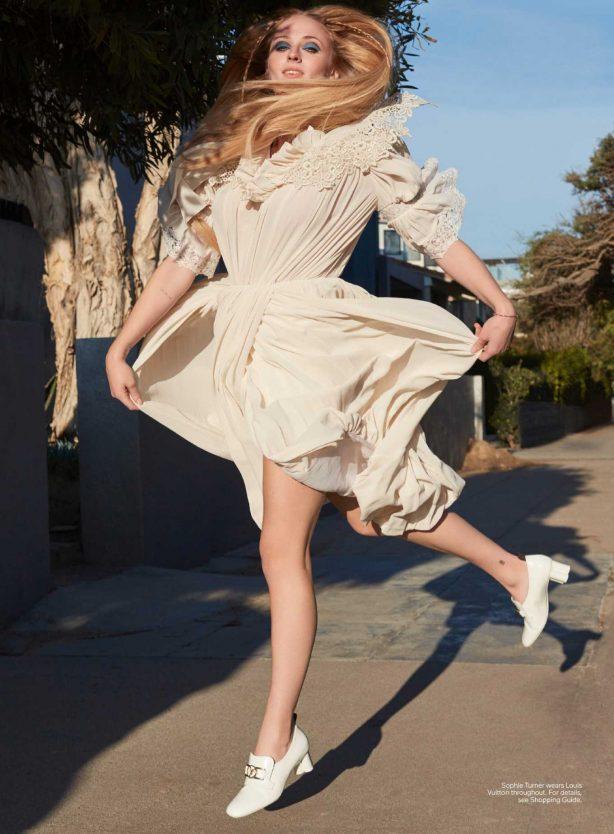 Sophie Turner - Elle Magazine (USA - April 2020)
