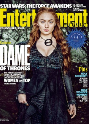 Sophie Turner - Entertainment Weekly Cover (April 2016)