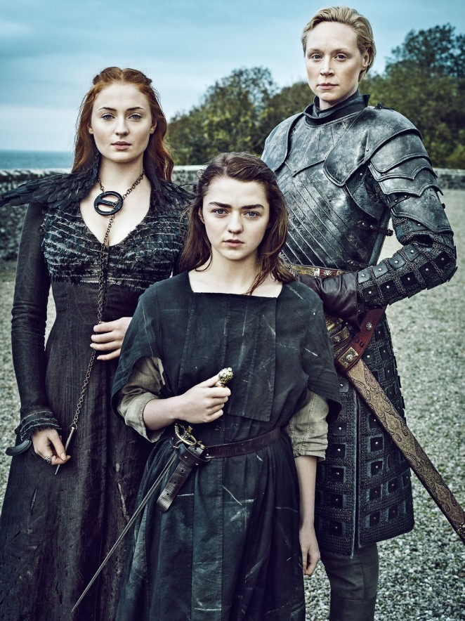 Sophie Turner – Entertainment Weekly: Dame of Thrones (April 2016)