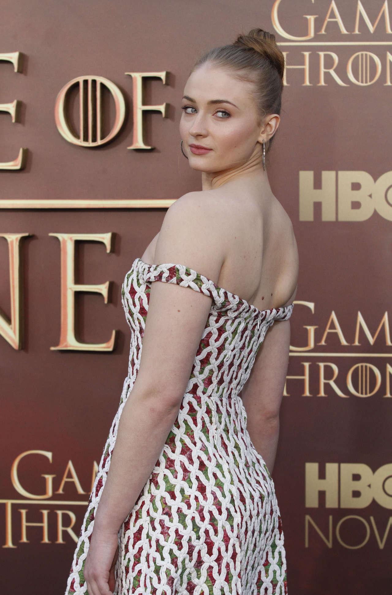 Sophie Turner - Game of Thrones: Season Five UK Premiere