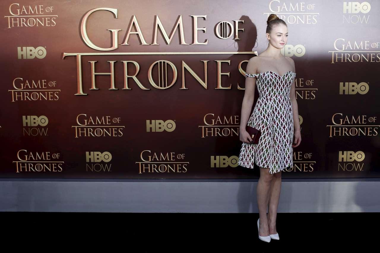 Sophie Turner - Game of Thrones Season 5 Premiere in San