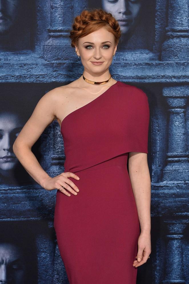 Sophie Turner - 'Game of Thrones' Season 6 Premiere in Hollywood