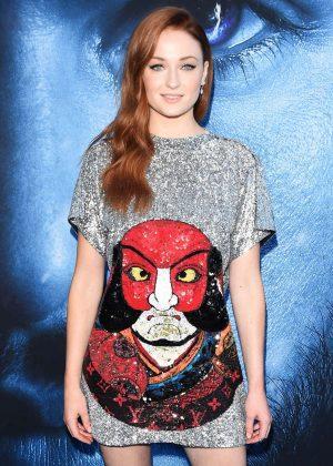 Sophie Turner - 'Game Of Thrones' Season 7 Premiere in Los Angeles