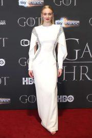 Sophie Turner - 'Game of Thrones' Season 8 Premiere in Belfast